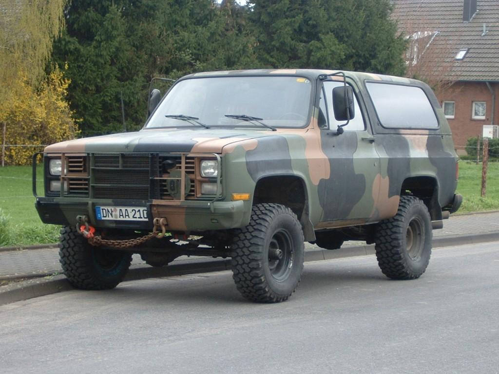 Chevrolet Blazer Blazer M1009 Ex Army 6 2 L V8 Diesel Bj