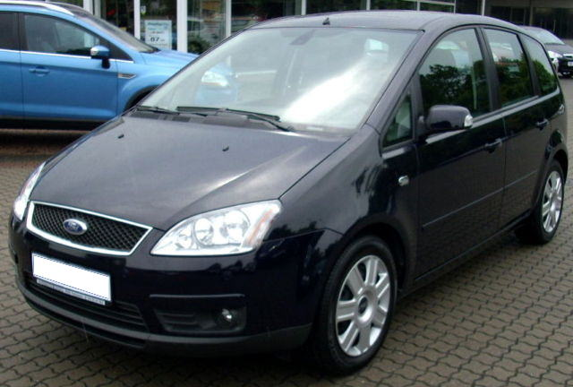 ford focus c max ghia 1 6 diesel bj 2007 details. Black Bedroom Furniture Sets. Home Design Ideas