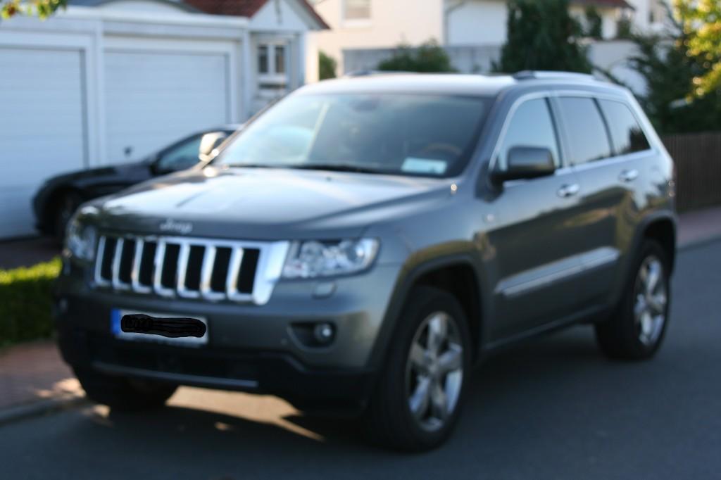 jeep grand cherokee overland 3 6 liter v6 flex fuel bj 2012 details. Black Bedroom Furniture Sets. Home Design Ideas