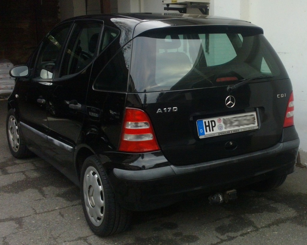 mercedes benz a 170 classic cdi 170 bj 2001 details. Black Bedroom Furniture Sets. Home Design Ideas