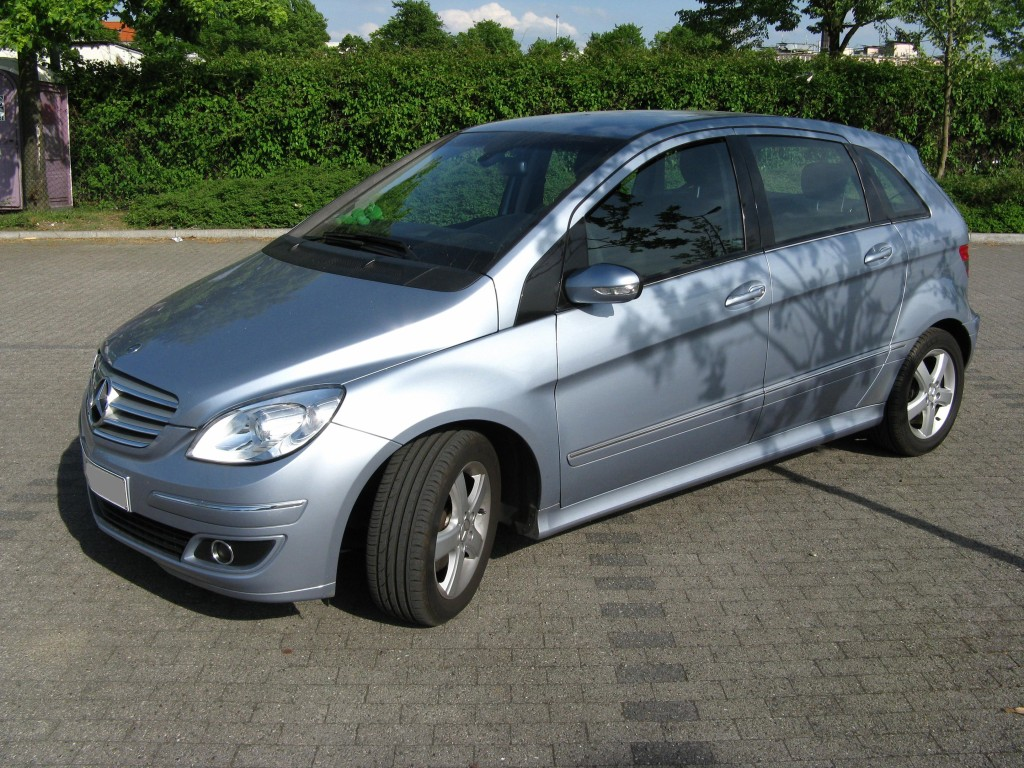 tankvorg nge mercedes benz b 200 b 200 turbo sports