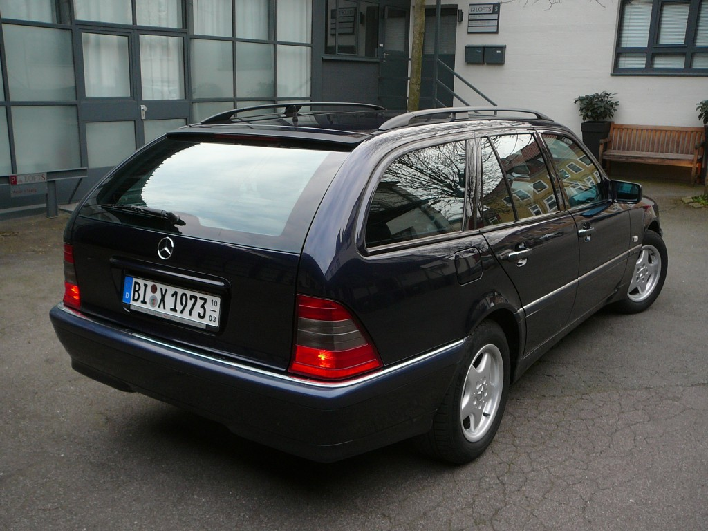 mercedes benz c 200 kompressor automatik t modell bj 2000 details. Black Bedroom Furniture Sets. Home Design Ideas