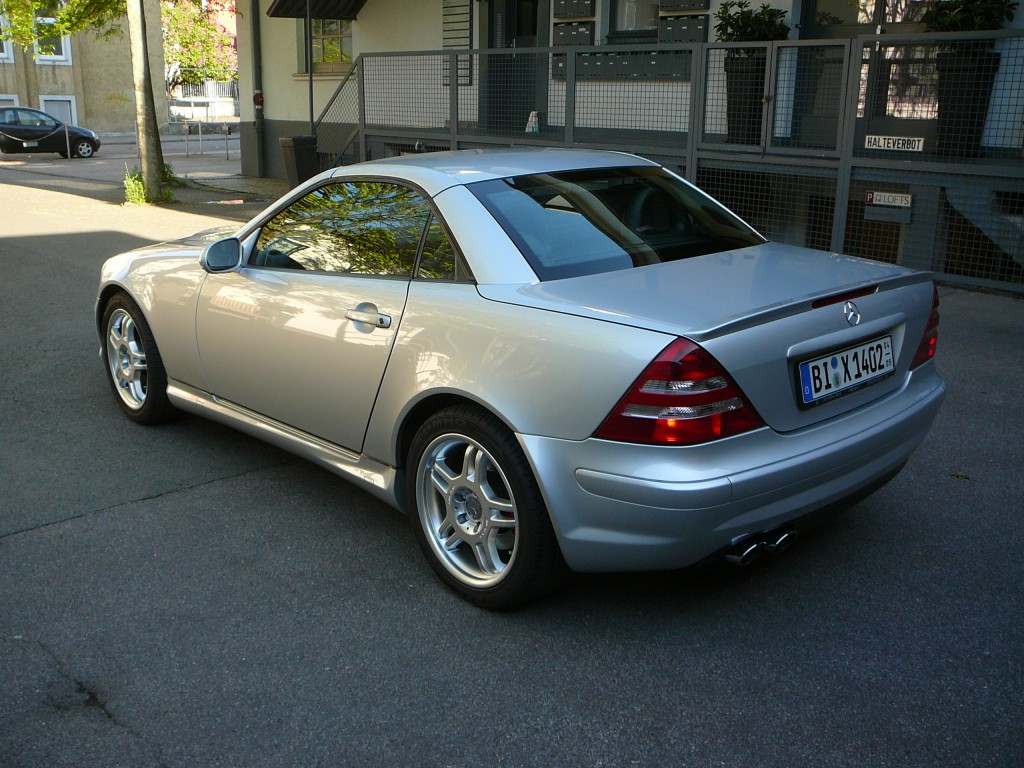 mercedes benz slk 32 amg automatik bj 2001 details. Black Bedroom Furniture Sets. Home Design Ideas