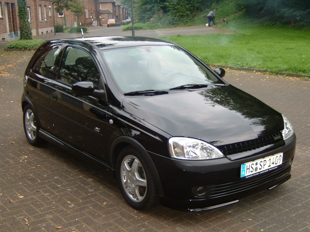 opel corsa c c sport 1 7 dti bj 2003 details. Black Bedroom Furniture Sets. Home Design Ideas