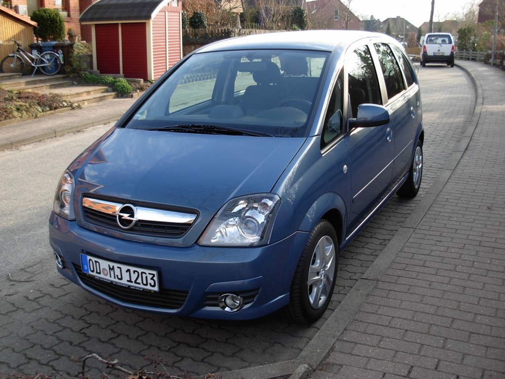 opel meriva innovation 1 6 bj 2010 details. Black Bedroom Furniture Sets. Home Design Ideas