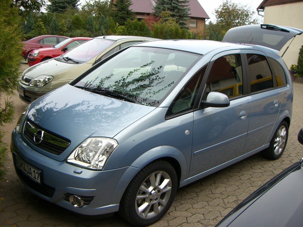 opel meriva cosmo 1 7 cdti bj 2006 details. Black Bedroom Furniture Sets. Home Design Ideas
