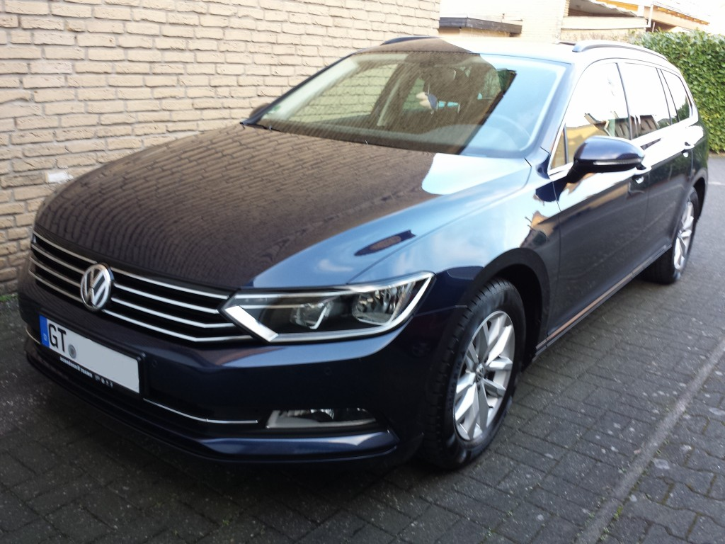 vw passat b8 variant comfortline bmt tdi bj 2015. Black Bedroom Furniture Sets. Home Design Ideas